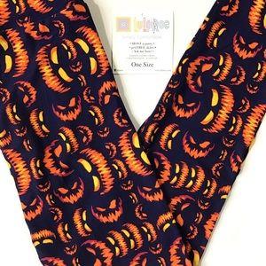 New In Package! LuLaRoe Halloween Leggings OS